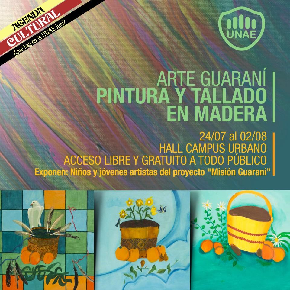 Arte Guaraní Pintura Y Tallado En Madera